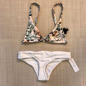 LA Hearts top and Sheridyn bottom bikini  size:XS